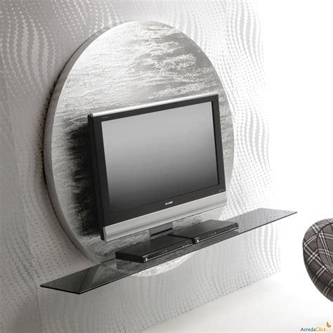 mensole per televisori porta tv a parete miki