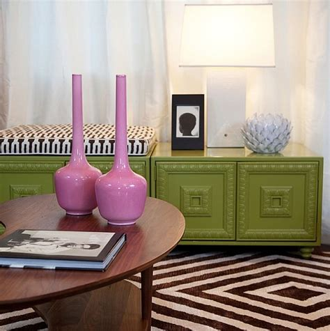 pink and green wall decor trendy color combo pink lime green