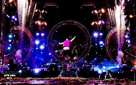 coldplay names coldplay live 2012