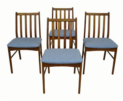 Teak Dining Chairs 1960s Teak Dining Chairs Set Of 4 Hoopers Modern