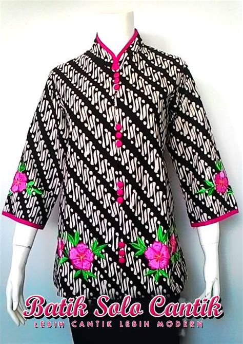 Rok And Blouse Katun Sogan by Sogan Batik Modern Baju Kerja Batik