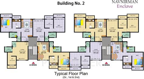 610 sq ft 1 bhk floor plan image gaj avenue available 610 sq ft 1 bhk 1t apartment for sale in navnirman enclave