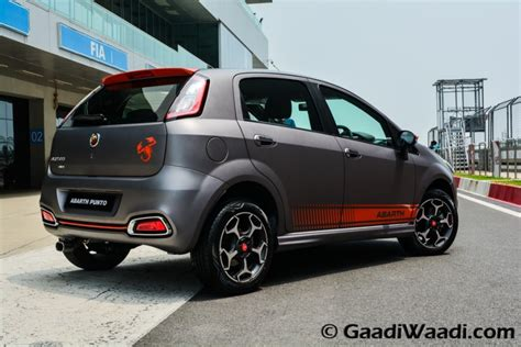 fiat punto abath fiat abarth punto unveiled in india makes an 145 bhp