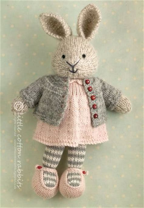 free rabbit knitting pattern uk 25 best ideas about cotton rabbits on