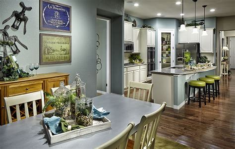 kitchen and eating area picture of heritage trail luxury 36 best heritage todd creek active adult images on