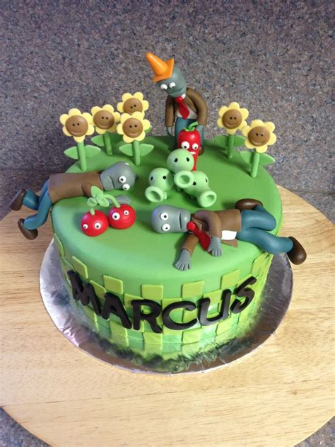 Plants Vs Zombies Cake Decorations 8 best images about food on