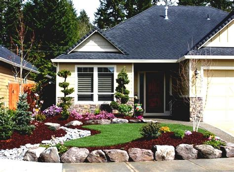 enchanting landscaping ideas for front yard of a ranch style house home inspiring