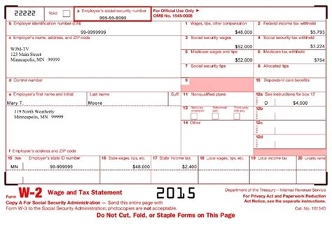 W2 2015 The Reasons Why We Love W2 2015 W 2 Form Template