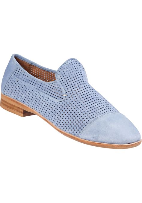 pale blue loafers jeffrey cbell barkley loafer light blue suede in blue