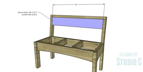 bench plans with back a simple to build bench with lots of style designs by
