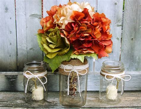 recycled mason jar into wedding decorations ~ Art Craft