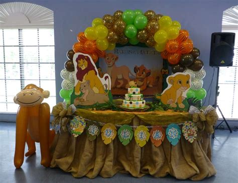 lion king themed birthday party ideas baby lion king baby shower quot baby lion king quot catch my party