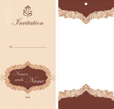 Wedding Border Coreldraw by Wedding Invitation Cdr File Free Modern Wedding