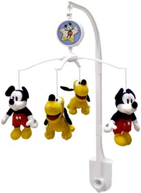Disney Crib Mobile by Disney Mickey Mouse Shine Musical Mobile Musical