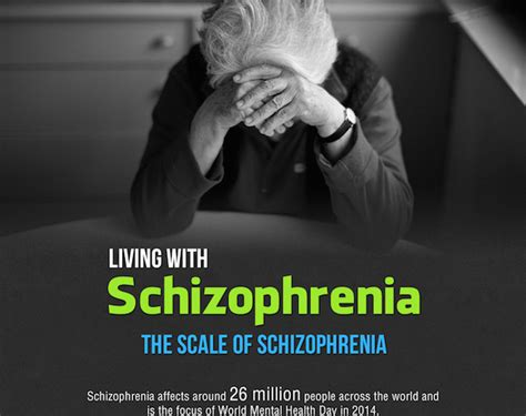 beyond schizophrenia living and working with a serious mental illness books what it s like to live with schizophrenia infographic