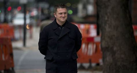 uk anti islamism activist tommy robinson blames