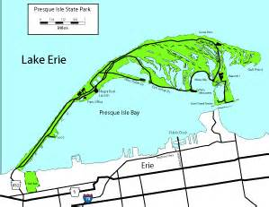 Presque Isle State Park Map by Presque Isle State Park Map