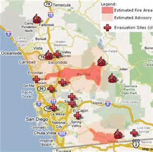 fires in california right now map gis october 2007