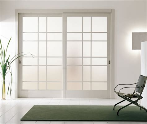 modern sliding glass doors modern interior sliding door featuring an inset acid