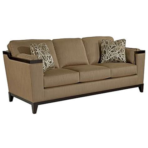 broyhill fireside sofa chair cherry floral 4671 wood