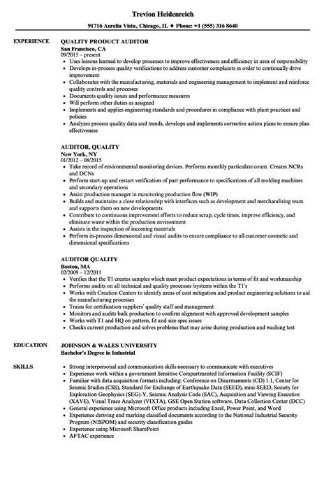 wonderful resume of auditor contemporary exle resume