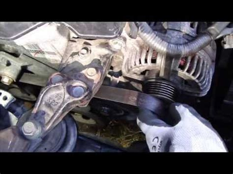 Compressor Aircond Vios how to setup drive belt or serpentine belt toyota vvt i