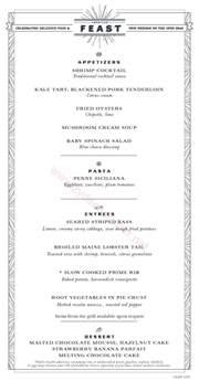 carnival eastern american feast 1 menu