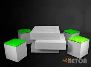 tisch aus beton couchtisch aus beton betontisch loungetisch aus beton
