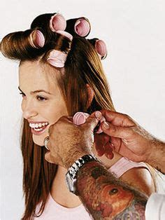 how to use hot rollers for bobbed hair using hot rollers on pinterest hot rollers hair velcro