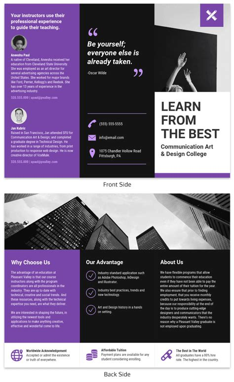 75 Brochure Ideas To Inspire Your Next Design Project Venngage Gallery Brochure Templates