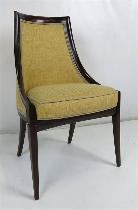 Harveys Dining Chairs Set Of Four Dining Chairs By Harvey Probber At 1stdibs