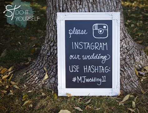 10 Great Ideas To Hashtag Your Wedding With Instagram