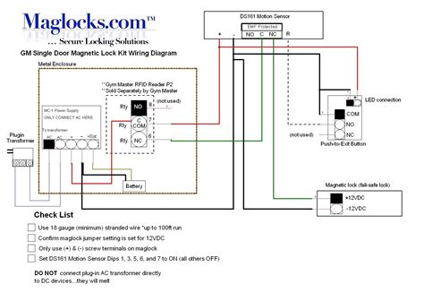magnetic door lock wiring diagram gm single door magnetic lock kit for storefront doors by