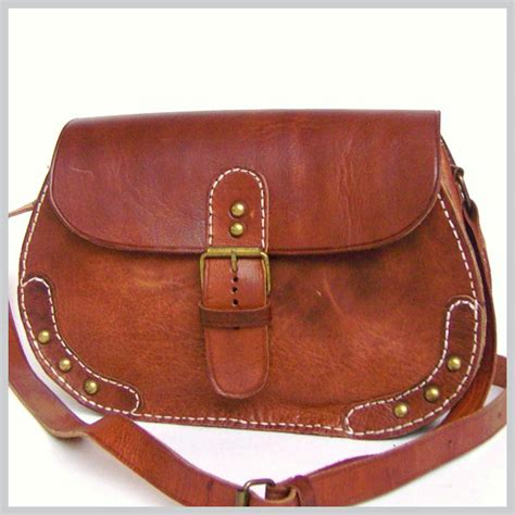 Handmade Leather Handbags - shoulder bag hb021 handmade leather bags handmade