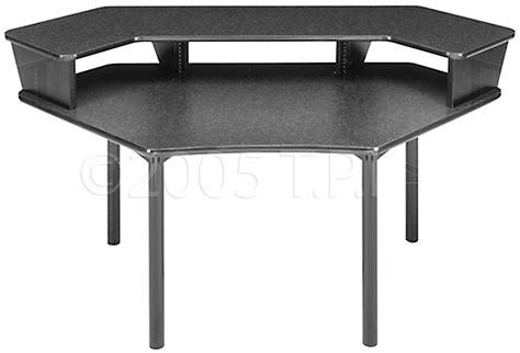 Multi Desk by Multi Desk Corner Unit With Configurable 1 Overbridge