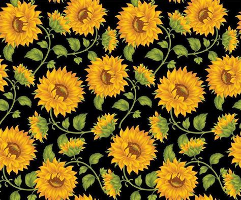 daisy pattern hd sunflower backgrounds wallpaper cave