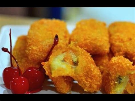 youtube membuat nugget resep praktis cara membuat nugget pisang youtube