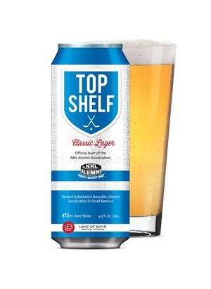 Top Shelf Brewery by Top Shelf Classic Lager To Be Introduced At Nbwa Brewbound