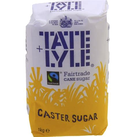 buy tate lyle fairtrade caster sugar 1kg online at