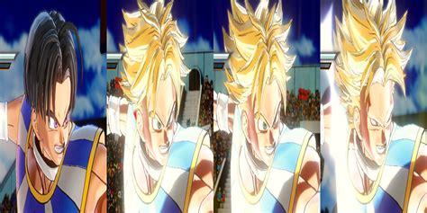 hairstyles xenoverse mod dbs future trunks transformable hair for male human saiyan
