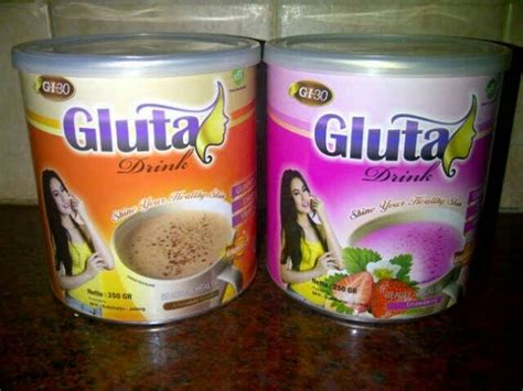 Gluta Drink Strawberry february 2016 jual kosmetik