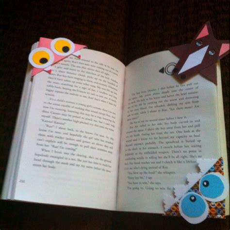 Handmade Bookmark Ideas - corner bookmarks ideas crafts