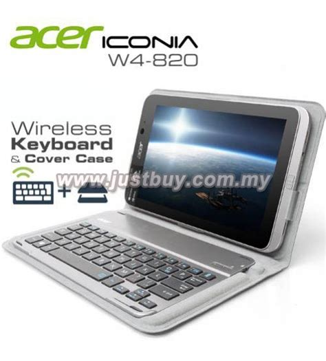 Keyboard Acer Iconia buy acer iconia w4 820 original wireless bluetooth