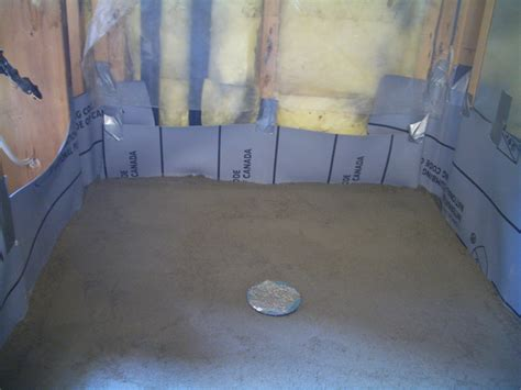 Shower Mud Base by How To Create A Shower Floor Part 5