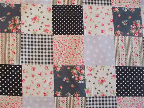 Material For Patchwork - patchwork black fabric 100 cotton per 1 metre floral