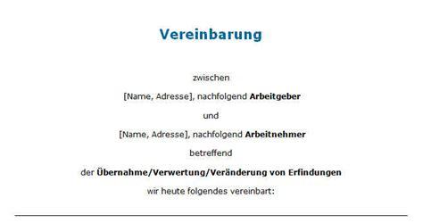 Word Vorlage Vereinbarung Muster Vereinbarung Zum Urheberrecht