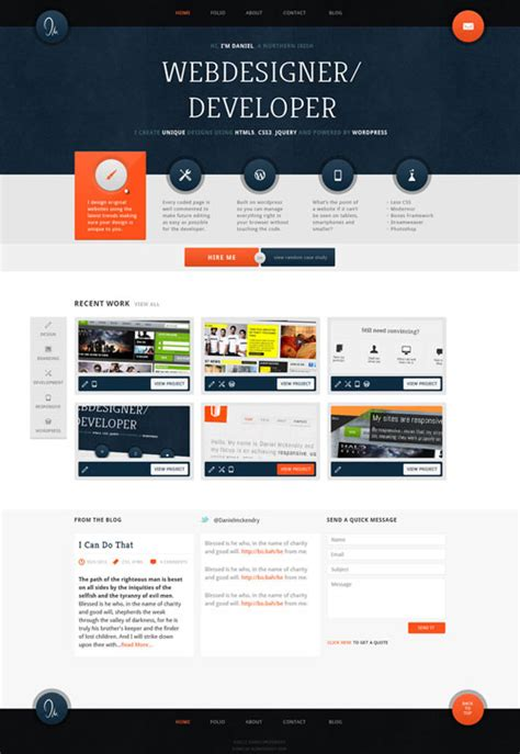 homepage design inspiration 38 awesome web interface designs web graphic design