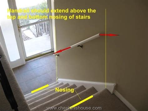 Stair Rail Return Stair Handrails And Guardrails Safety Issues Checkthishouse