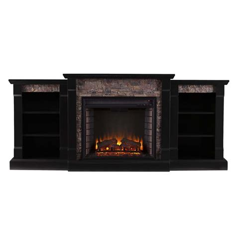 Electric Fireplace With Faux by Southern Enterprises Gallatin Faux Electric