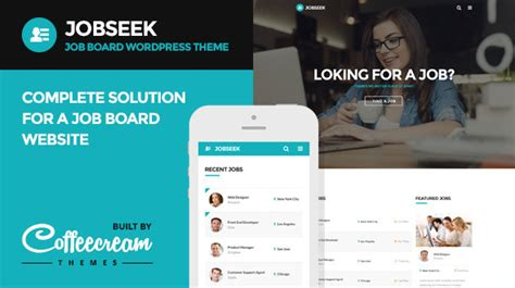 themeforest job board jobseek job board wordpress theme wordpress themeforest
